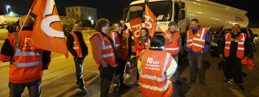 greve routier
